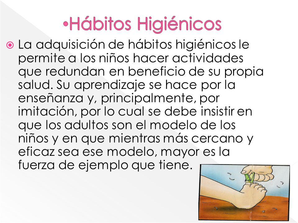 Hábitos Higiénicos