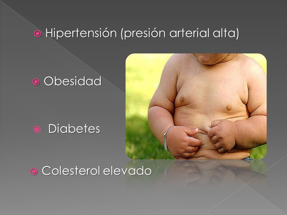 Hipertensión (presión arterial alta)