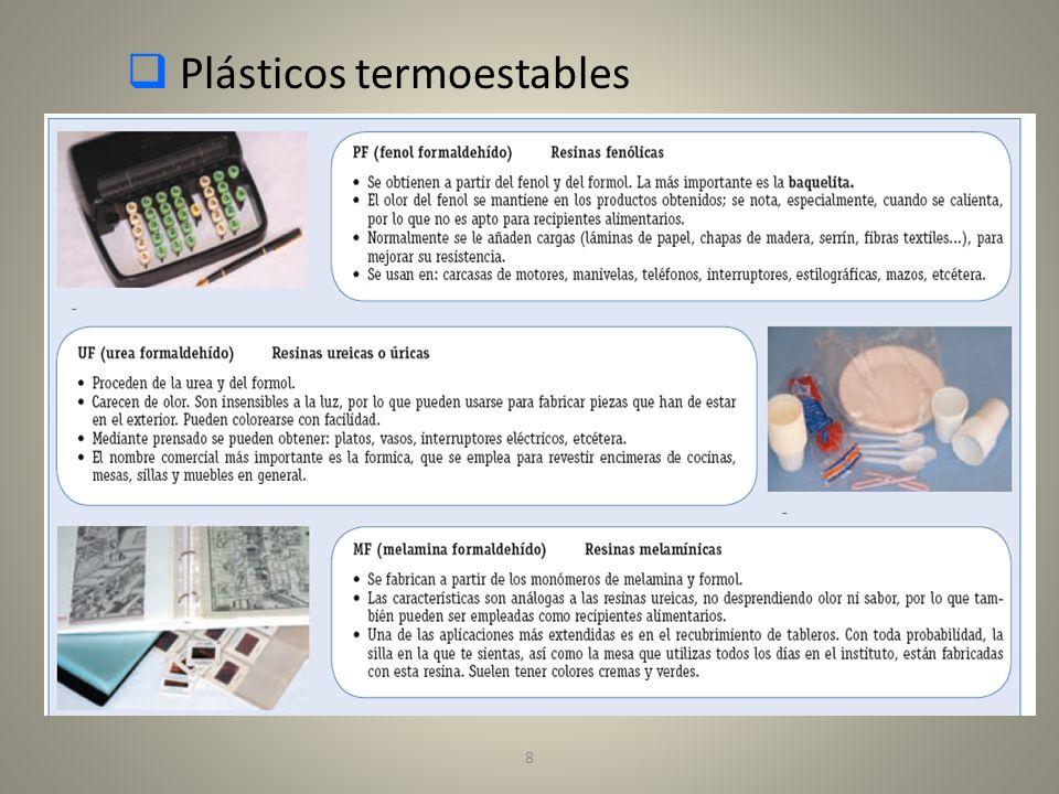 Plásticos termoestables