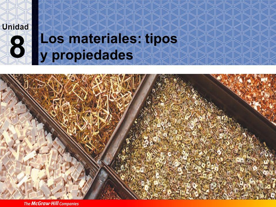 Los materiales: tipos y propiedades