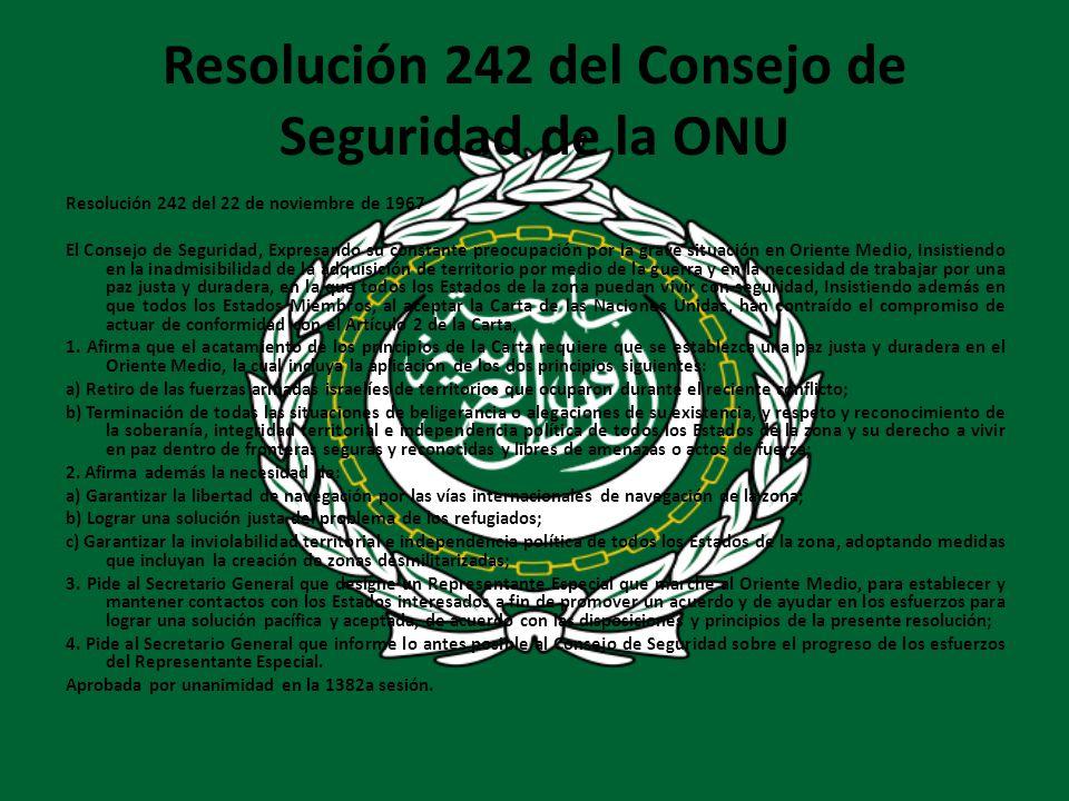 Resolución 242 del Consejo de Seguridad de la ONU