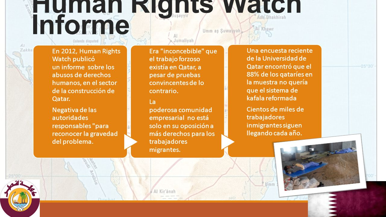 Human Rights Watch Informe