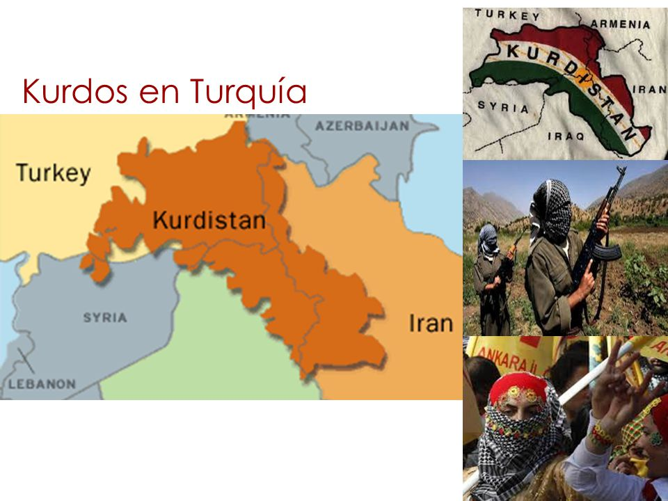 Kurdos en Turquía