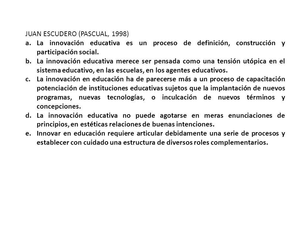 JUAN ESCUDERO (PASCUAL, 1998)