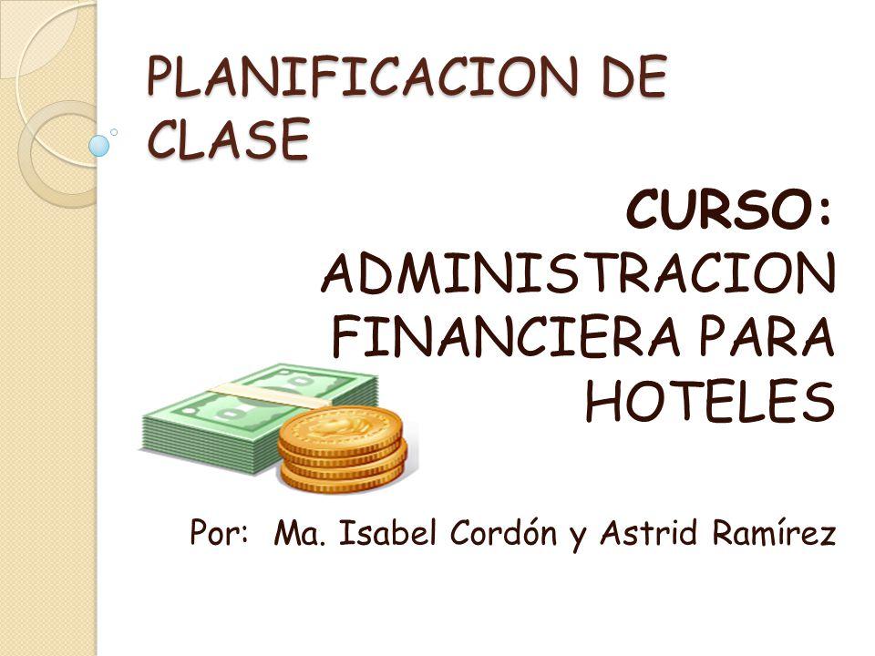 PLANIFICACION DE CLASE