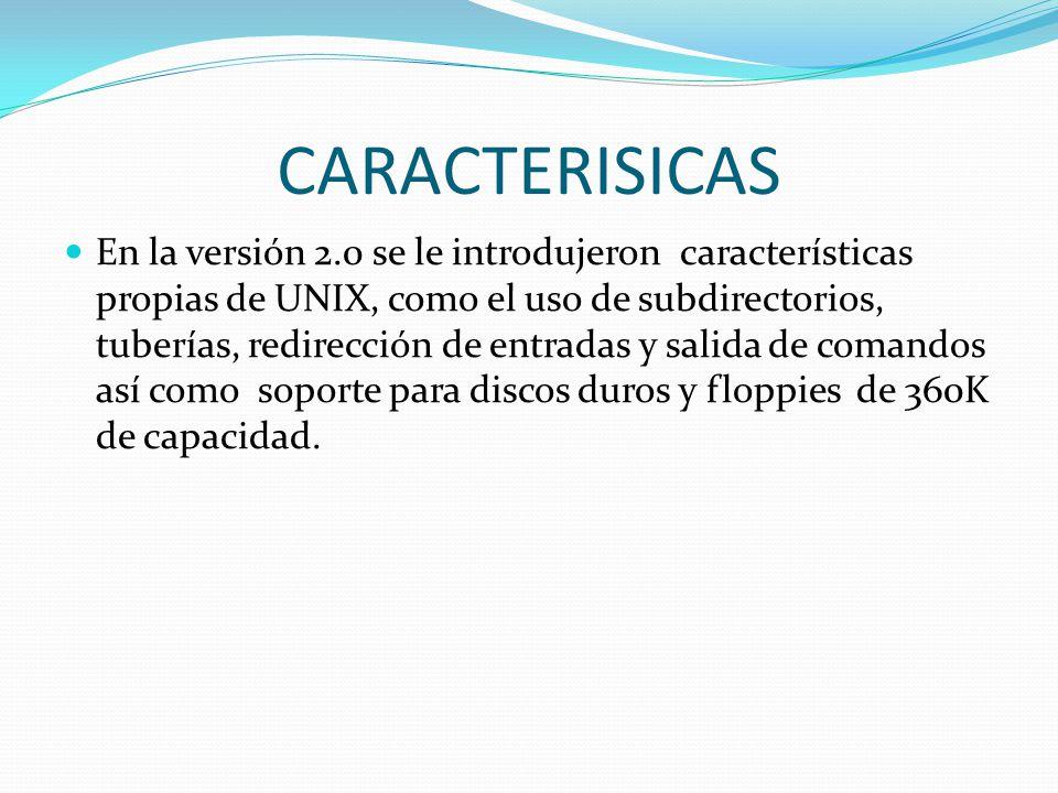 CARACTERISICAS