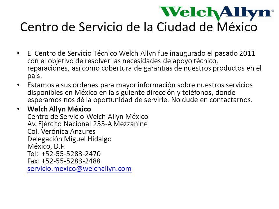 Centro de Servicio de la Ciudad de México