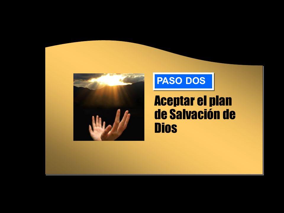 Aceptar el plan de Salvación de Dios