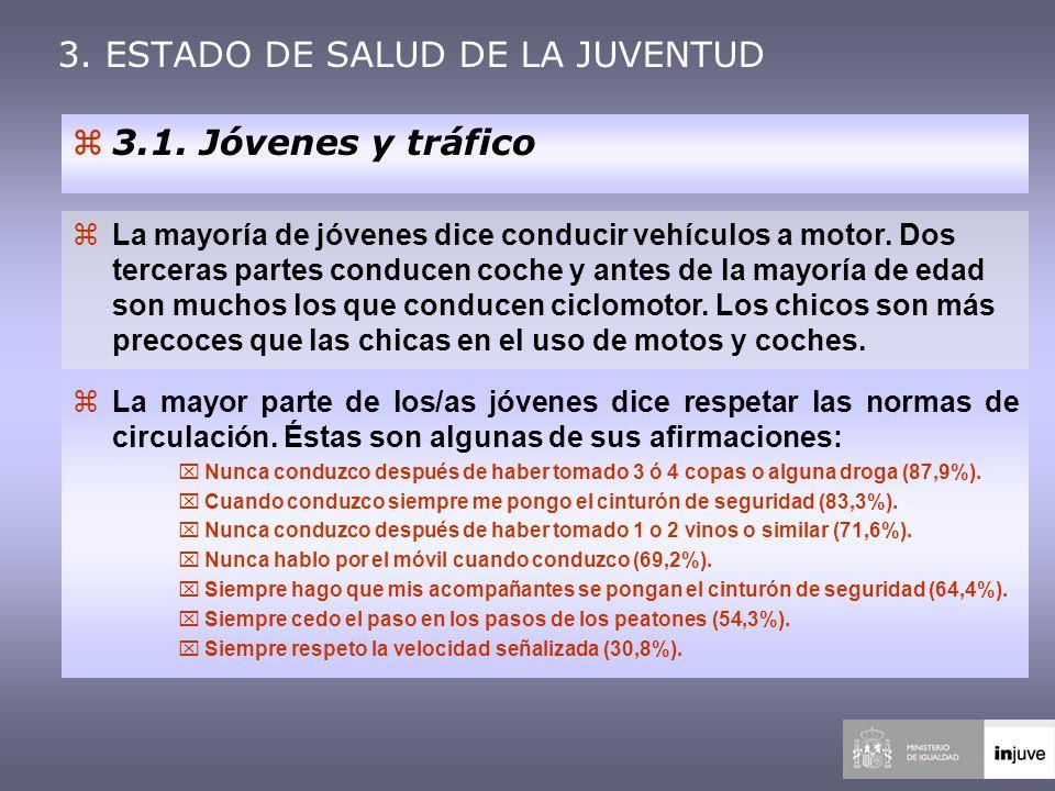 3. ESTADO DE SALUD DE LA JUVENTUD