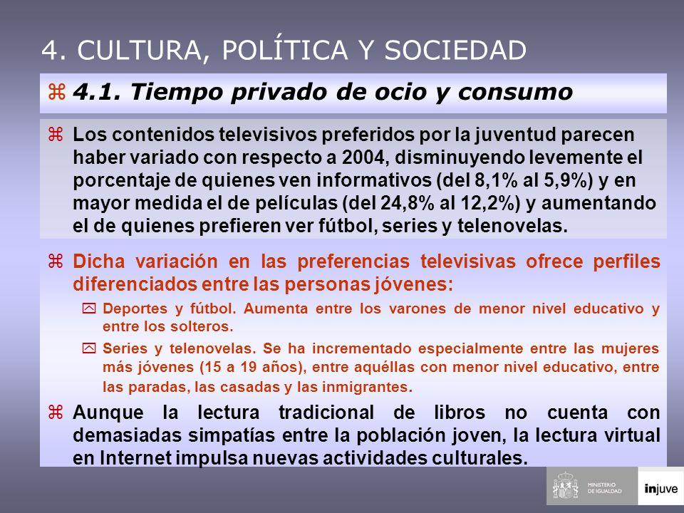 4. CULTURA, POLÍTICA Y SOCIEDAD