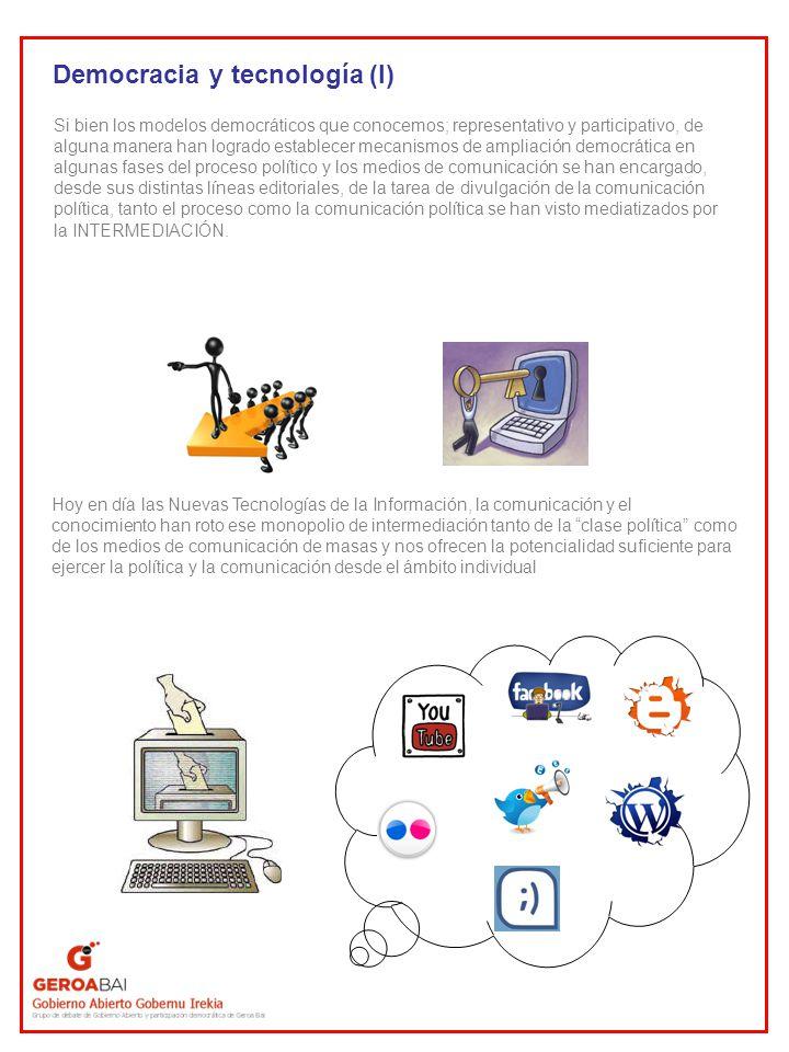 Democracia y tecnología (I)