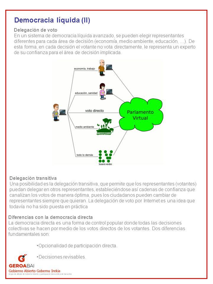 Democracia líquida (II)