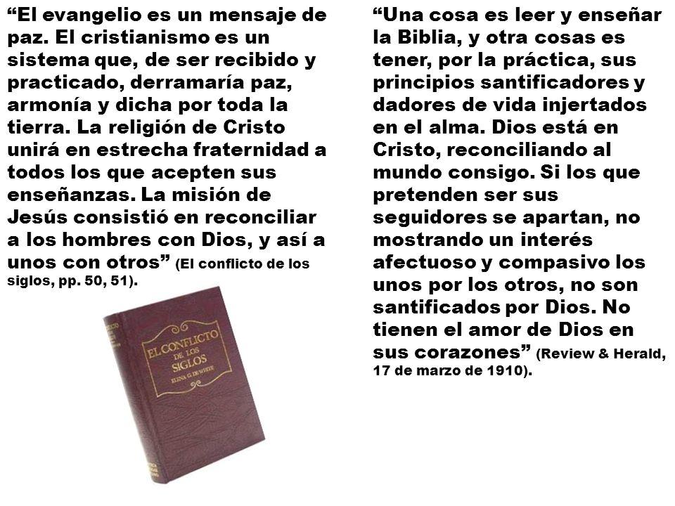 El evangelio es un mensaje de paz