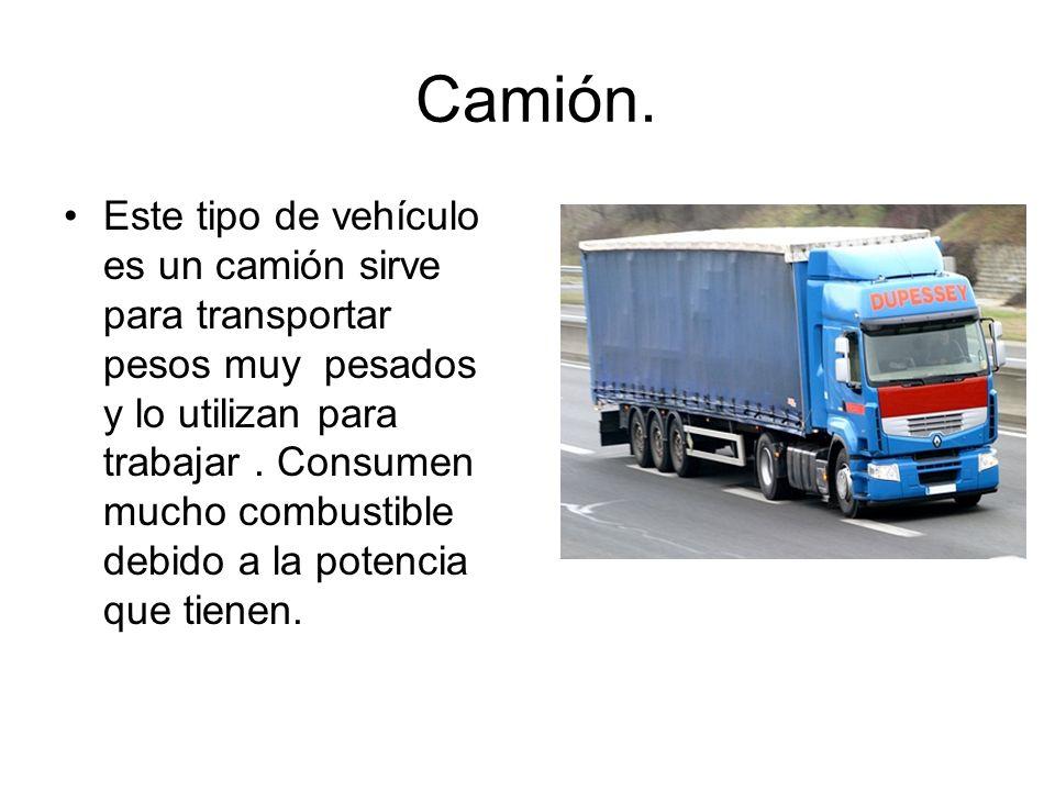 Camión.