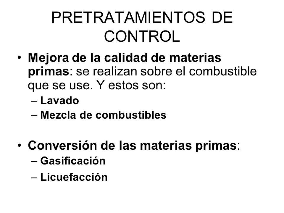 PRETRATAMIENTOS DE CONTROL