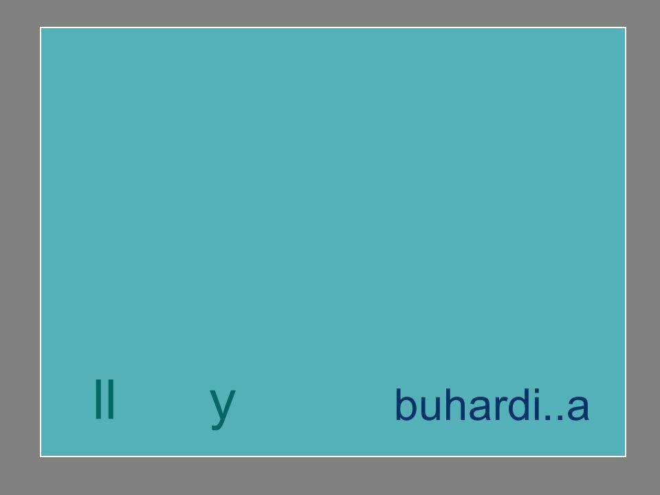 hallar mayúscula buhardilla ll y buhardi..a