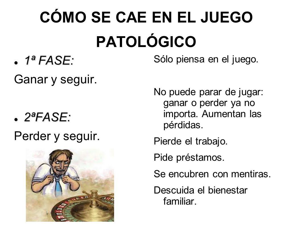 CÓMO SE CAE EN EL JUEGO PATOLÓGICO