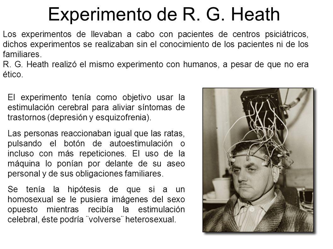 Experimento de R. G. Heath