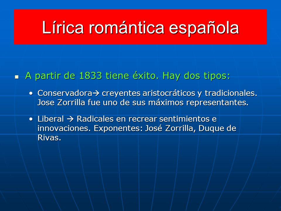 Lírica romántica española