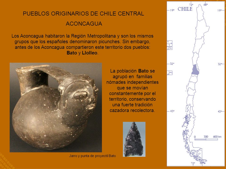 PUEBLOS ORIGINARIOS DE CHILE CENTRAL