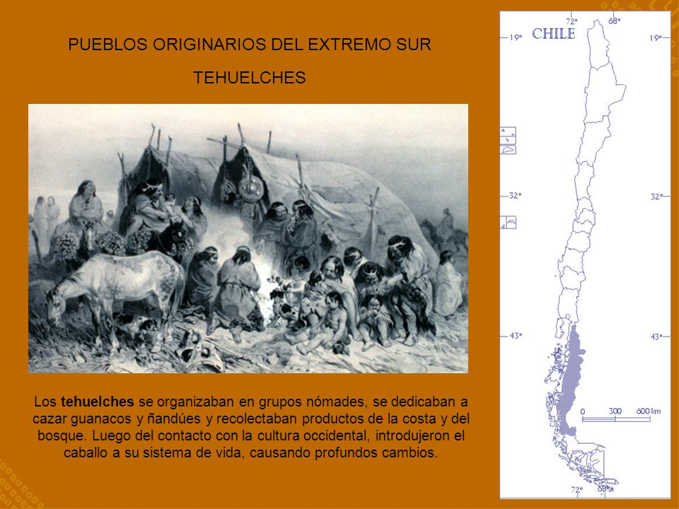 PUEBLOS ORIGINARIOS DEL EXTREMO SUR