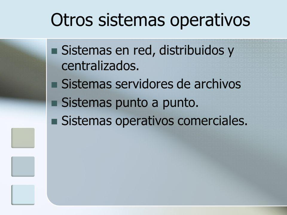 Otros sistemas operativos