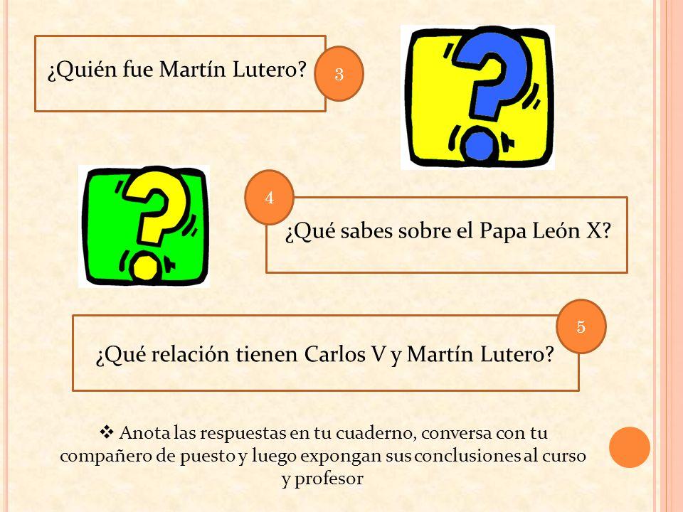 ¿Quién fue Martín Lutero