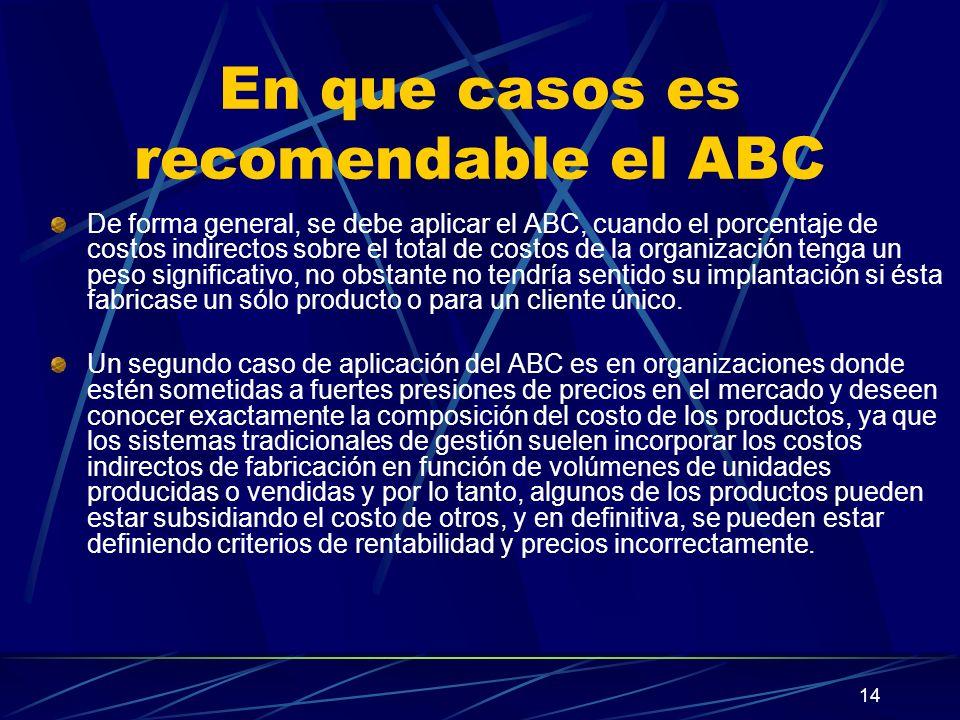 En que casos es recomendable el ABC