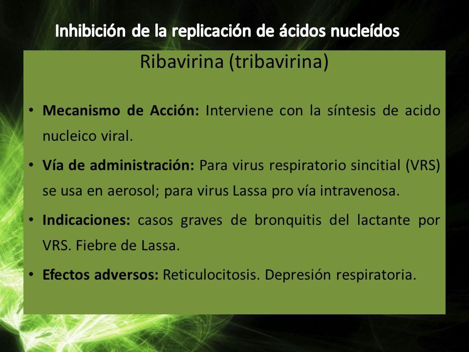 Ribavirina (tribavirina)