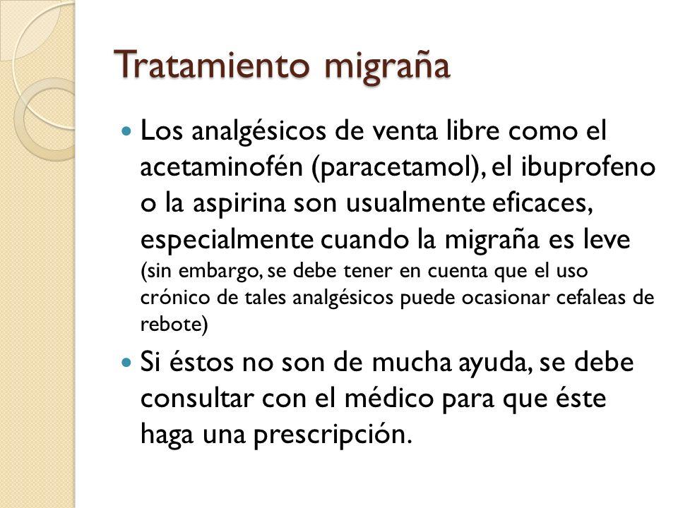 Tratamiento migraña
