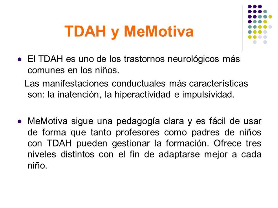 TDAH y MeMotivaEl TDAH es uno de los trastornos neurológicos más comunes en los niños.