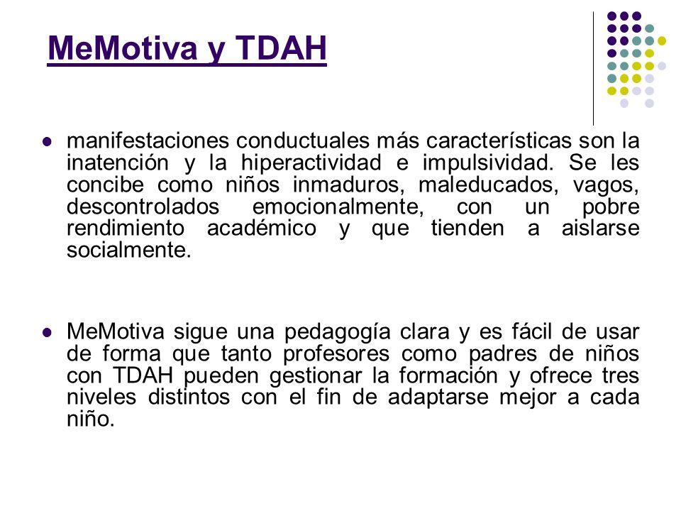 MeMotiva y TDAH
