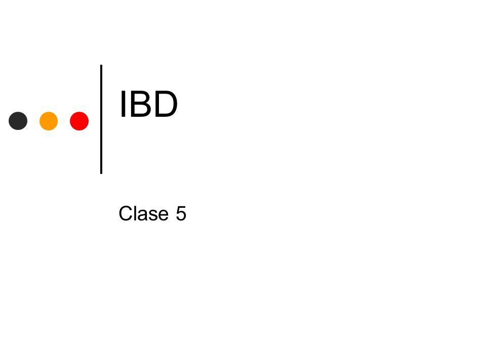 IBD Clase 5