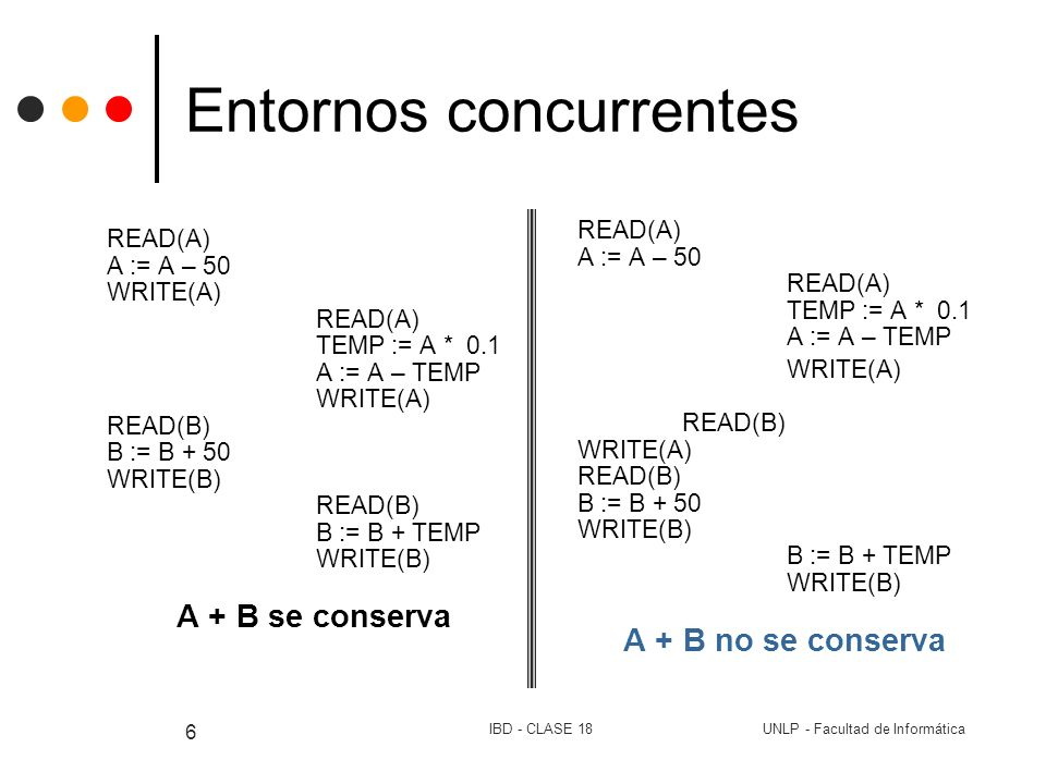 Entornos concurrentes