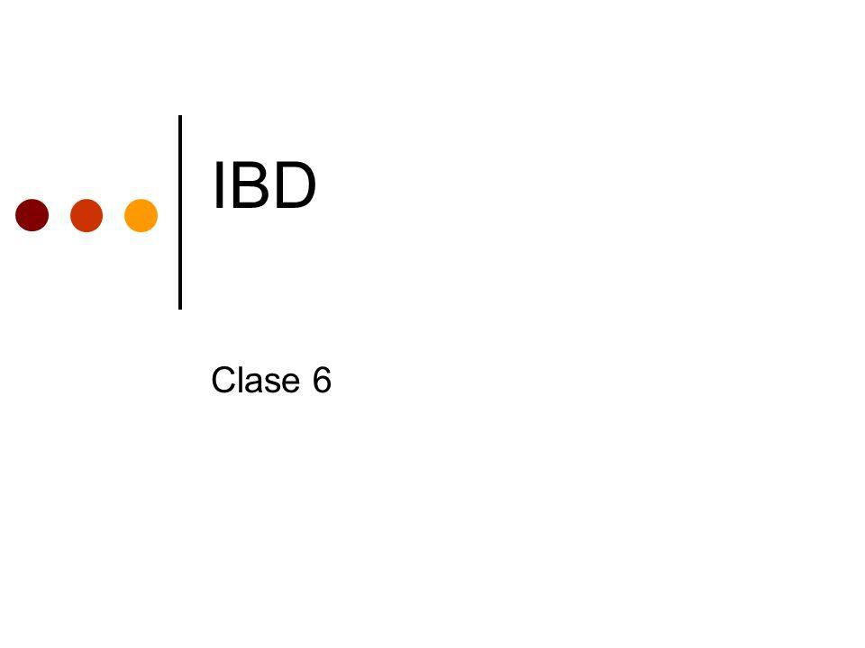 IBD Clase 6