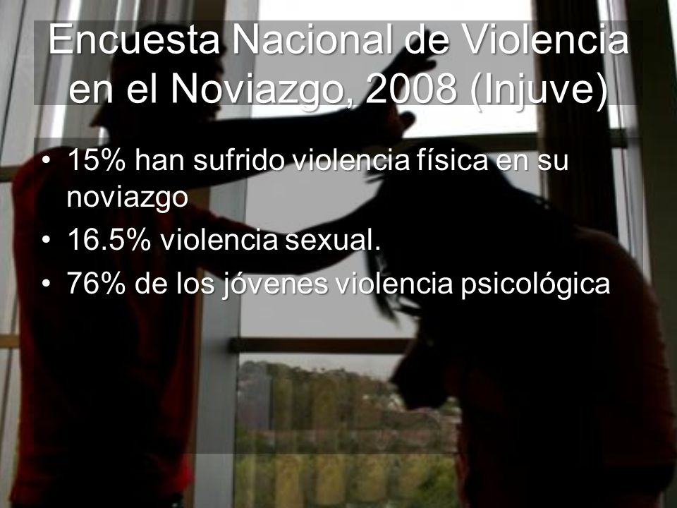 Encuesta Nacional de Violencia en el Noviazgo, 2008 (Injuve)