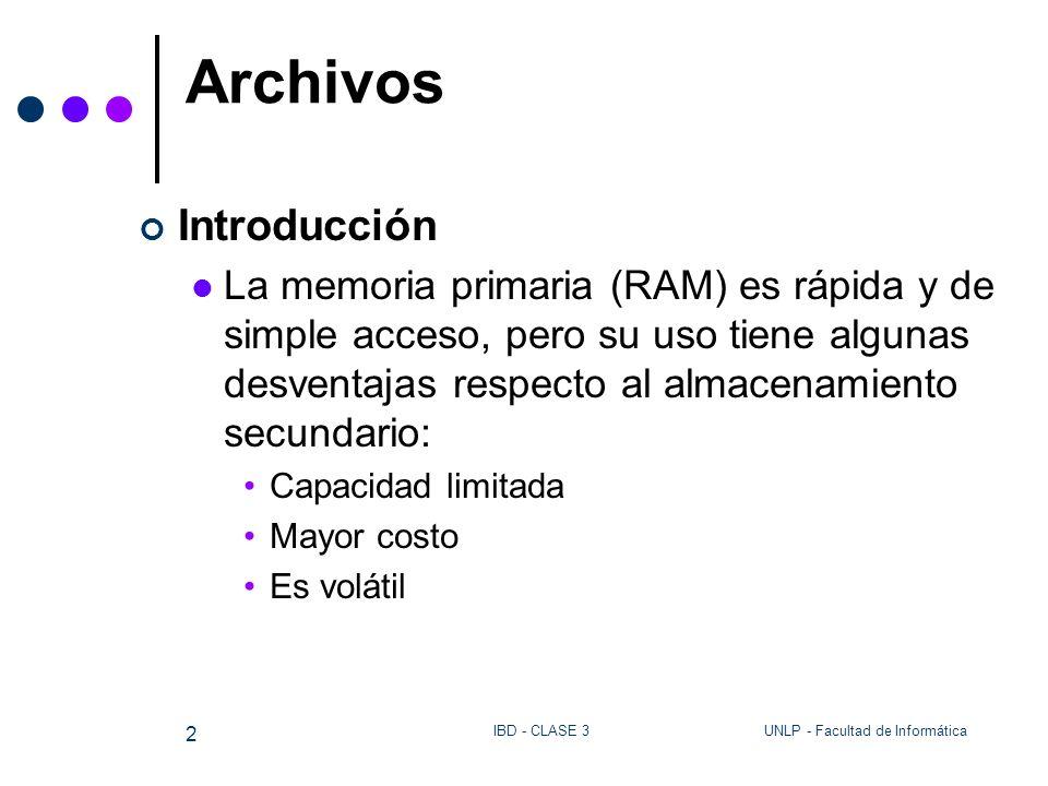Archivos Introducción