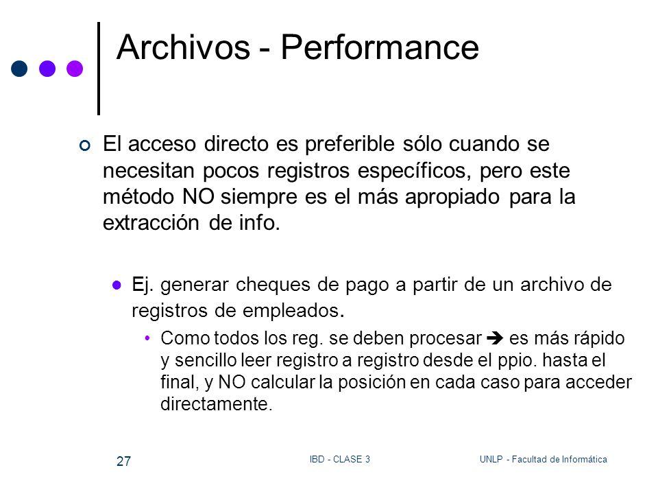 Archivos - Performance