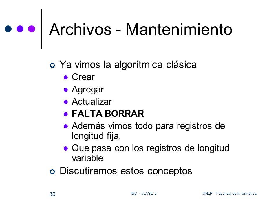 Archivos - Mantenimiento