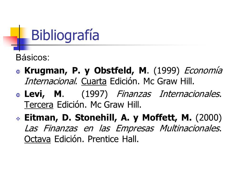 Bibliografía Básicos: