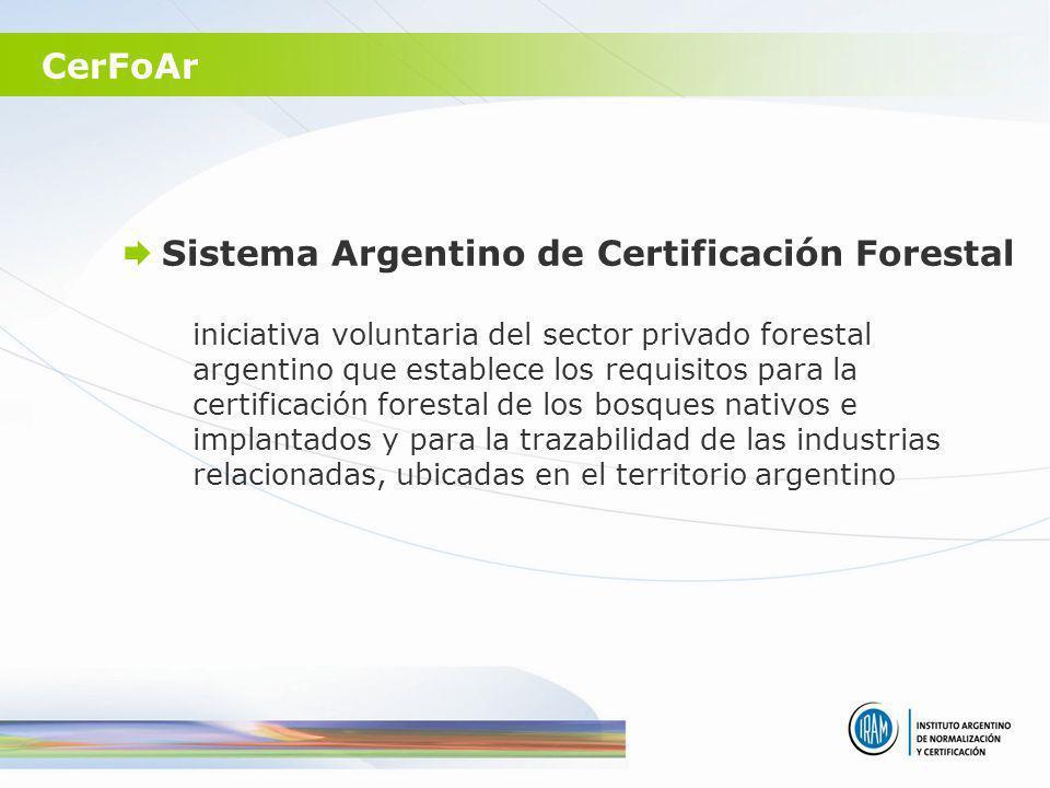 Sistema Argentino de Certificación Forestal