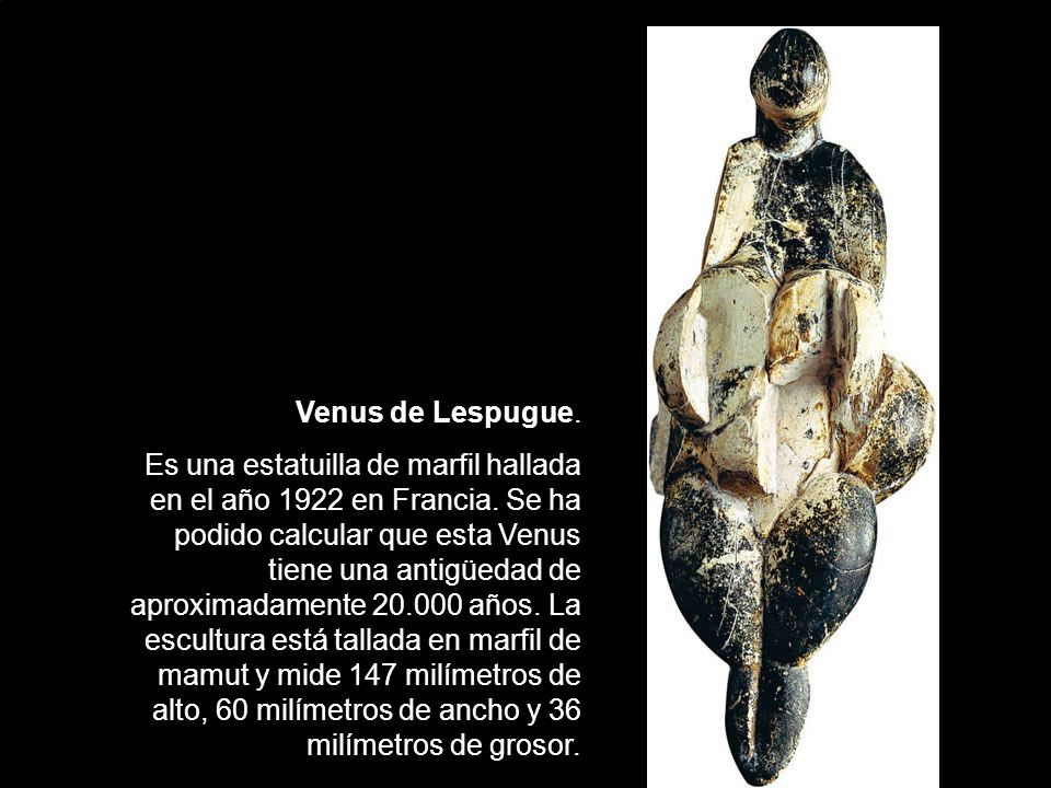 Venus de Lespugue.