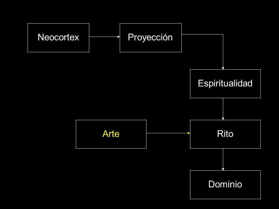 Neocortex Proyección Espiritualidad Arte Rito Dominio