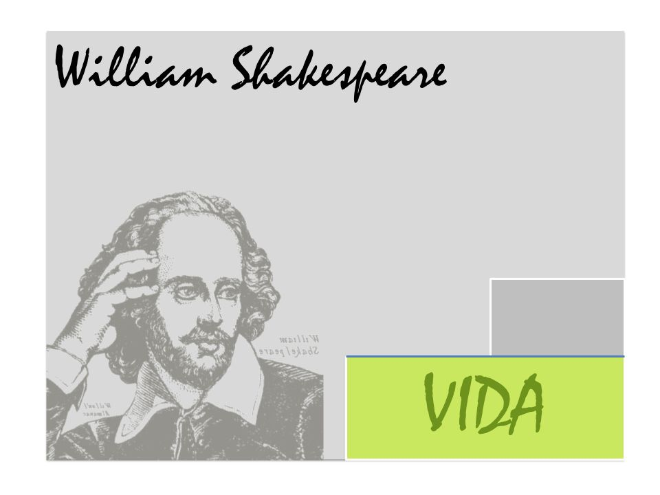 William Shakespeare VIDA