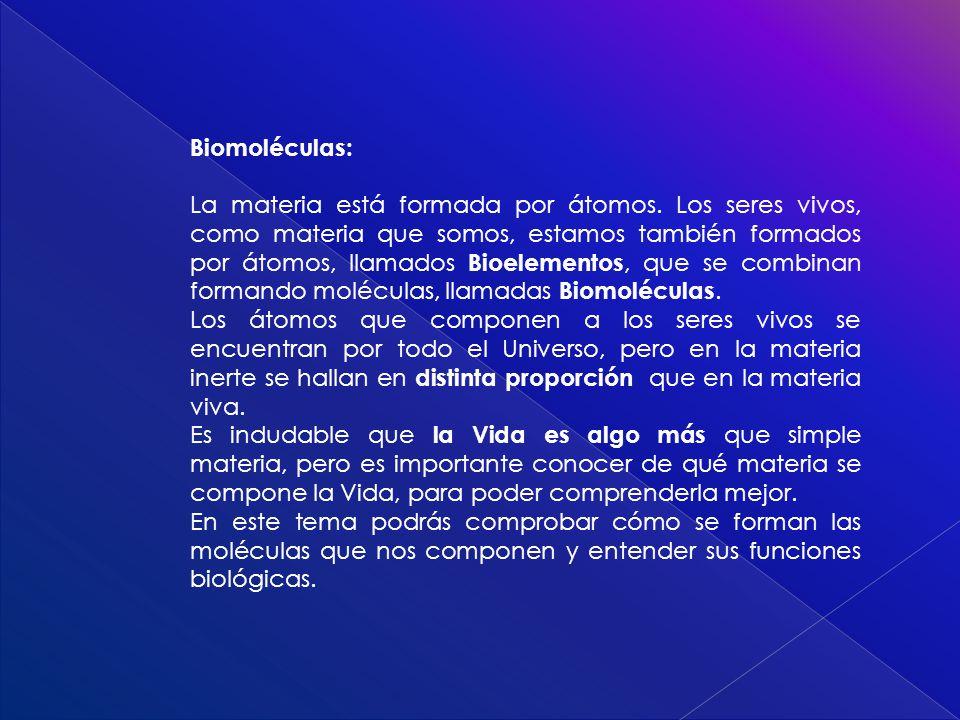 Biomoléculas: