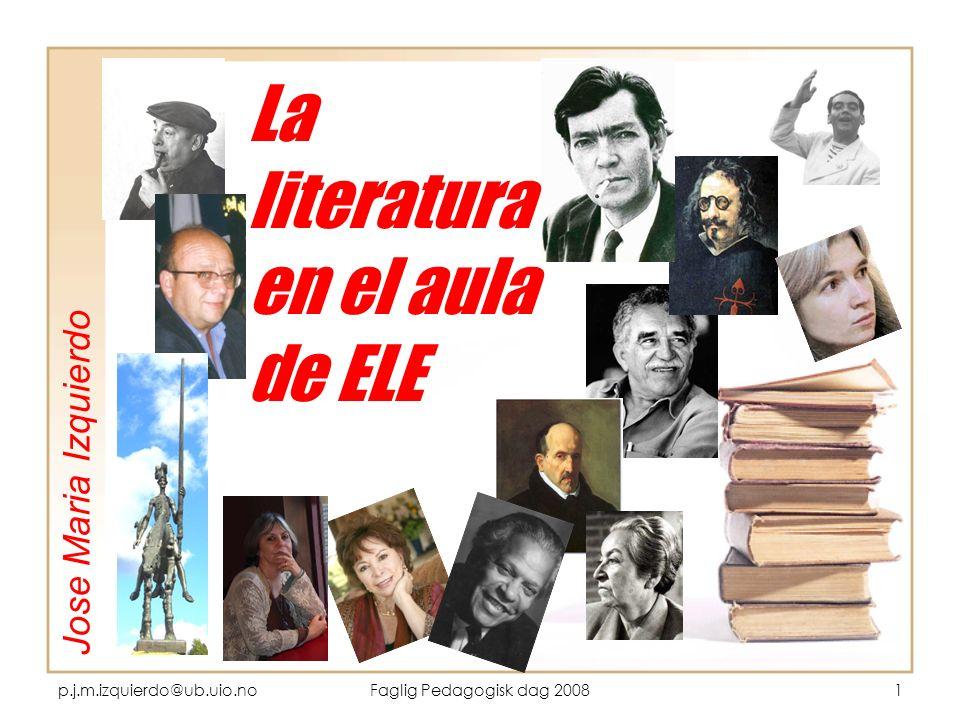 La literatura en el aula de ELE