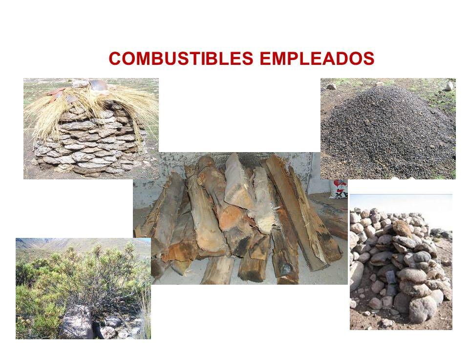 COMBUSTIBLES EMPLEADOS
