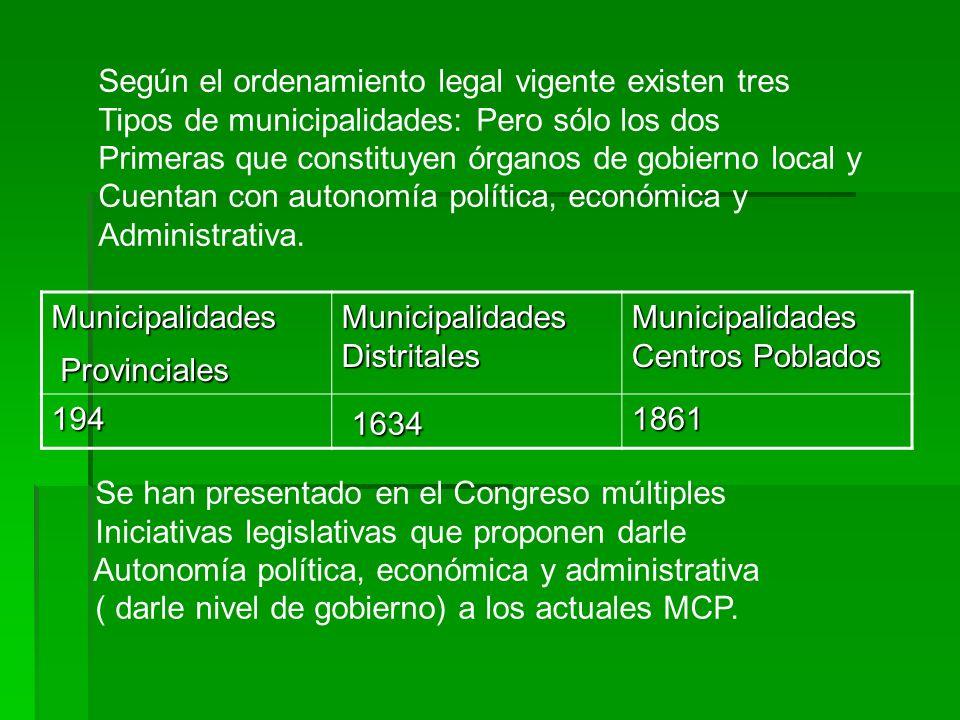 1634 Según el ordenamiento legal vigente existen tres
