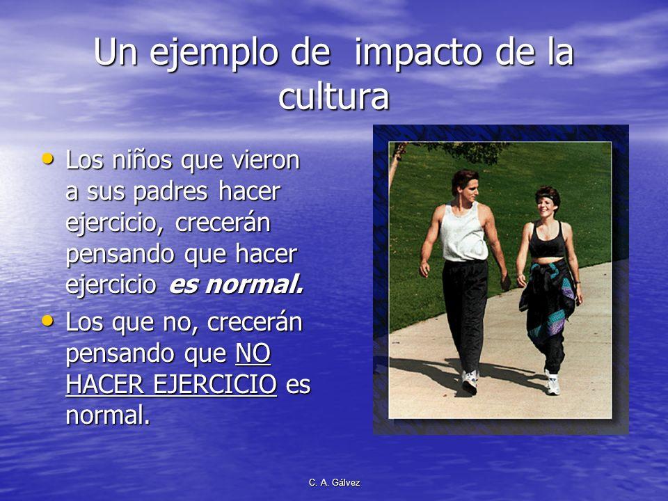 Un ejemplo de impacto de la cultura