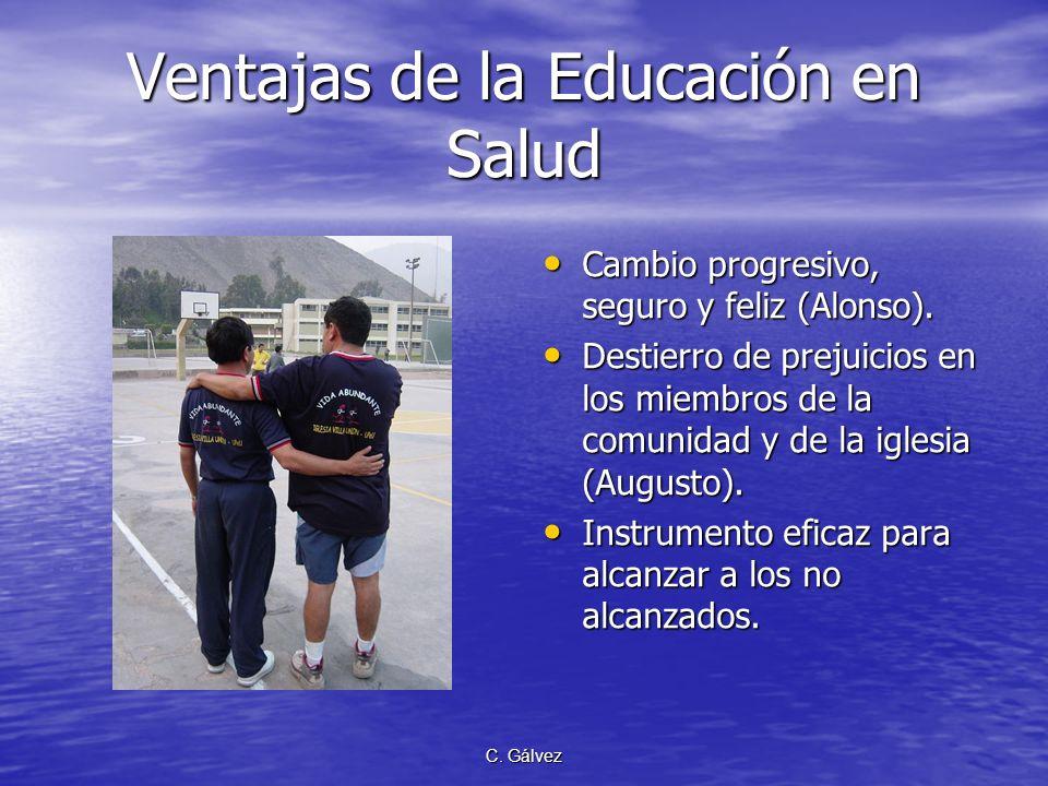 Ventajas de la Educación en Salud